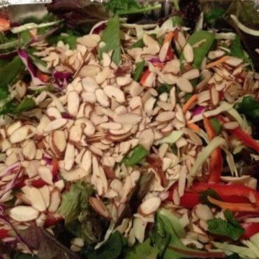 Asian Inspired Salad with Sesame Ginger Dressing
