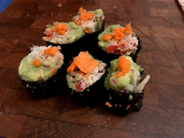 Sweet and Spicy Raw Food Sushi Pate by Teriann Rafal